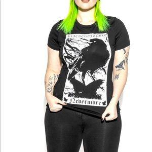 BlackCraft Cult Nevermore XxL Women's top BNWT!
